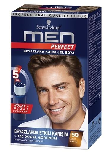 Perfect  50 Açık Kahve Erkek Saç Boyası Kahve